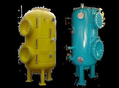 (Рус) Ионитные фильтры противоточные с зажатыми слоями ИФПр ЗС; ФИПр ЗС