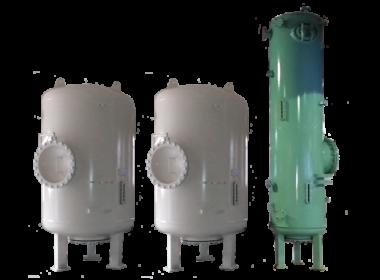 (Рус) Ионитные фильтры смешанного действия с наружной регенерацией