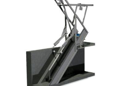 Coarse sieve mechanical